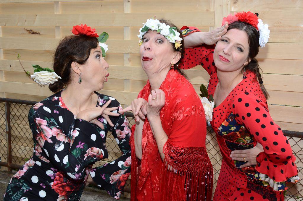 Die drei Flamencas